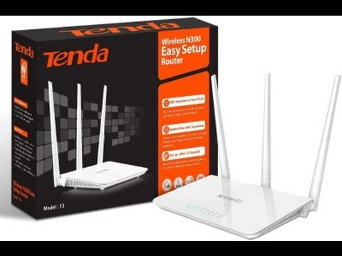 Router Tenda F303 Wireless N300Mbps