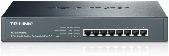 Switch TP-LINK TL-SG1008PE 8 port Gigabit