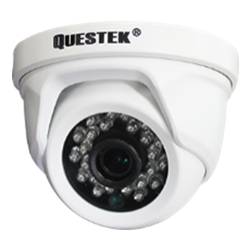 Camera Questek QOB-4192D 1.3 Megapixel, 12 Led SMD IR 30m,F2.8mm Fixed lens