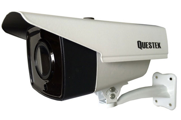 Camera Questek QOB-3802D 1.3 Megapixel, 4 Led Array IR 30m, Ống kính F3.6mm Fixed Lens, vỏ sắt
