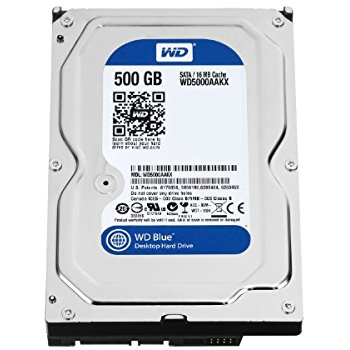 HDD Western Blue 500GB 7200Rpm, SATA3 6Gb/s, 16MB Cache
