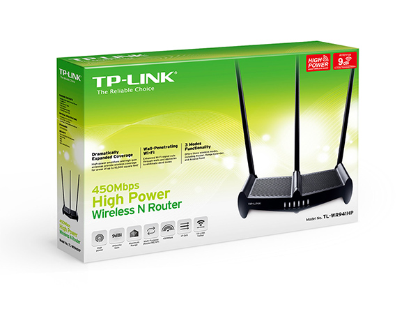 Router TPlink TL-WR941HP Wireless N 450Mbps