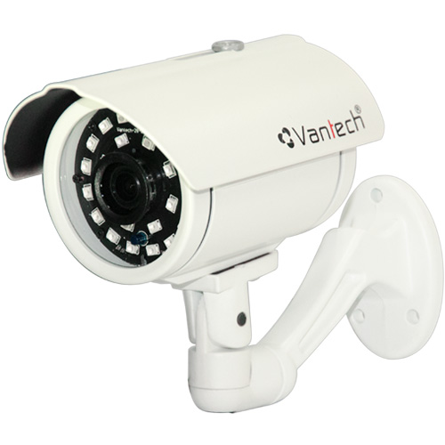 Camera Vantech VP-155AHDH 3.0 Megapixel, 24 Smart Led IR 40m, F3.6mm góc nhìn 78 độ, IP66